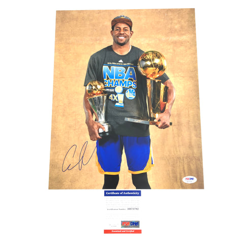 Andre Iguodala signed 11x14 photo PSA/DNA Golden State Warriors Autographed