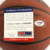 Patrick Ewing Signed Basketball PSA/DNA New York Knicks Autographed
