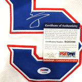 Willie Calhoun signed jersey PSA/DNA Texas Rangers Autographed