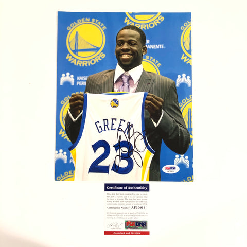 Draymond Green signed 8x10 photo PSA/DNA Golden State Warriors Autographed