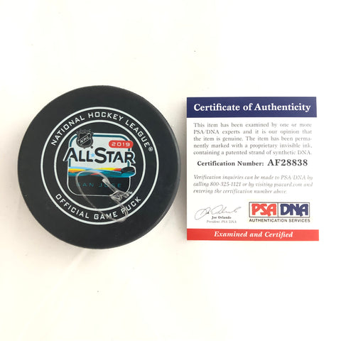 Connor McDavid signed Hockey Puck PSA/DNA Edmonton Oilers Autographed