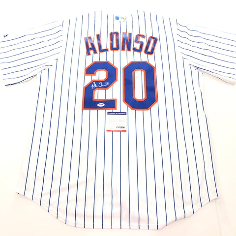 Pete Alonso signed jersey PSA/DNA New York Mets Autographed
