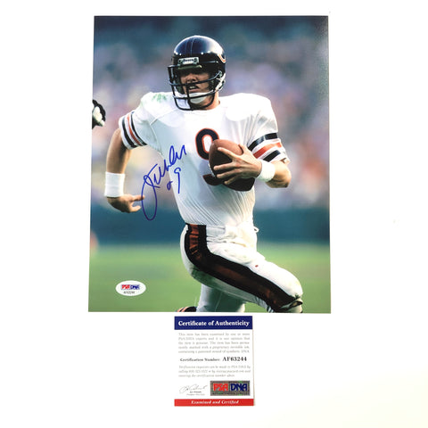 Jim McMahon signed 8x10 photo PSA/DNA Chicago Bears Autographed