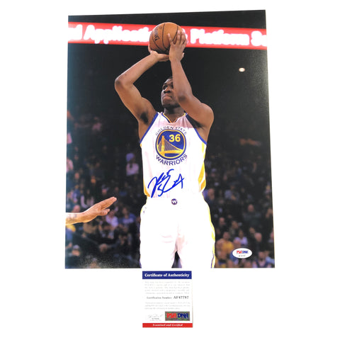 Kevon Looney signed 11x14 photo PSA/DNA Golden State Warriors Autographed
