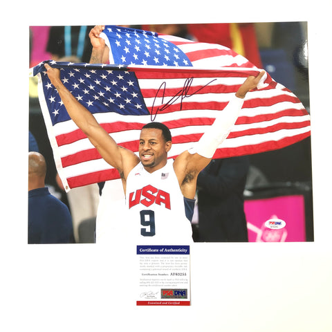 Andre Iguodala signed 11x14 photo PSA/DNA Team USA Autographed