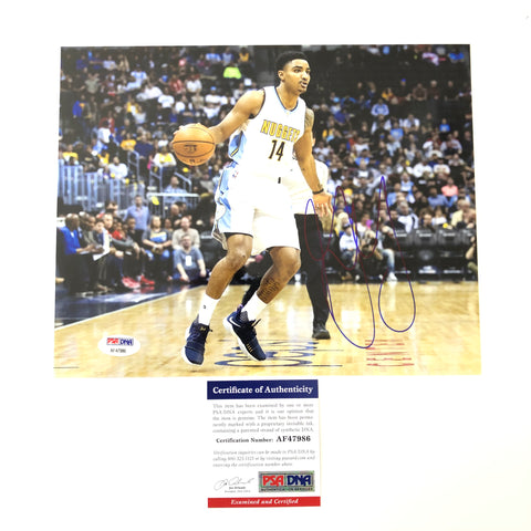 Gary Harris signed 8x10 photo PSA/DNA Denver Nuggets Autographed