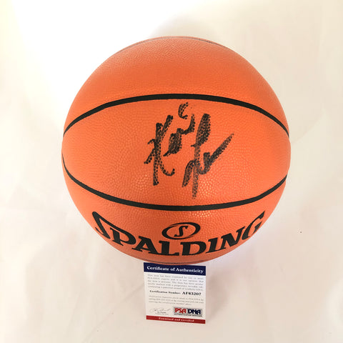 Kevin Love Signed Basketball PSA/DNA Cleveland Cavaliers Autographed