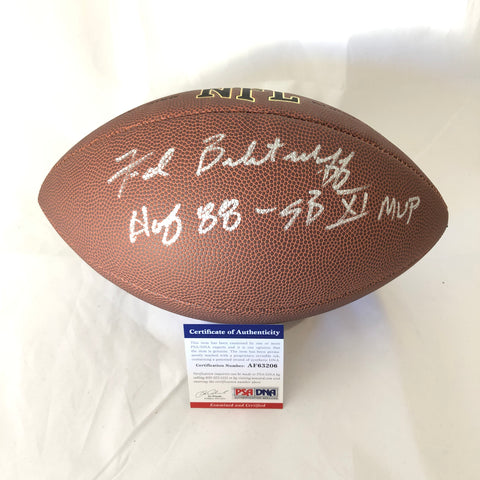 Fred Biletnikoff signed Football PSA/DNA Oakland Raiders autographed