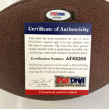 Jim McMahon signed Football PSA/DNA Chicago Bears autographed Inscription