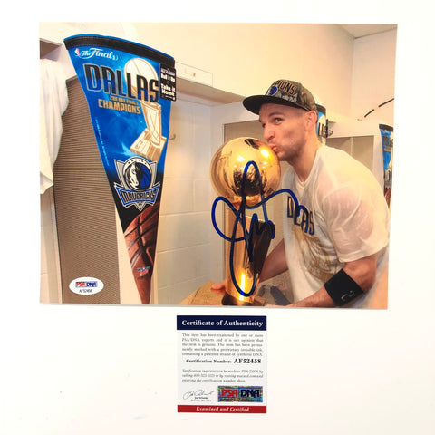 Jason Kidd signed 8x10 photo PSA/DNA Dallas Mavericks Autographed