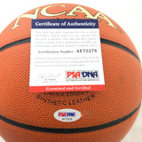 Ray Allen Signed NCAA Basketball PSA/DNA Boston Celtics Autographed