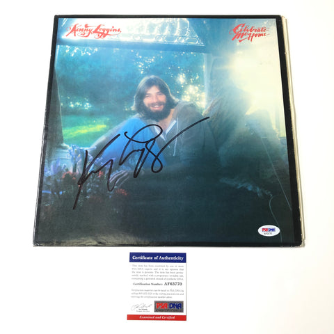 Kenny Loggins Signed Celebrate Me Home LP Vinyl PSA/DNA Album autographed