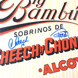 Cheech & Chong Signed LP Vinyl PSA/DNA Album autographed Big Bambu and Marin Tommy