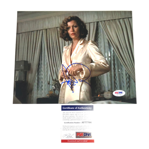 Faye Dunaway signed 8x10 photo PSA/DNA Autographed