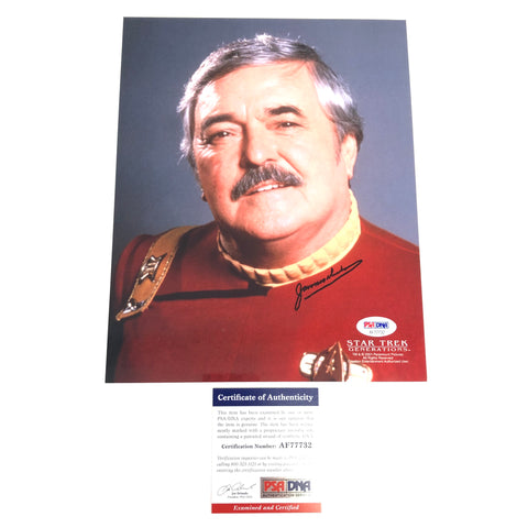 James Doohan signed 8x10 photo PSA/DNA Autographed Star Trek