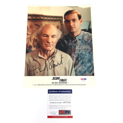 Patrick Stewart signed 8x10 photo PSA/DNA Autographed