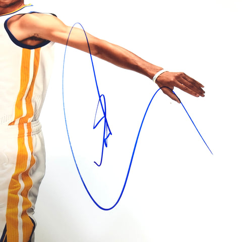 Stephen Curry signed 12x18 photo PSA/DNA Golden State Warriors Autographed Steph