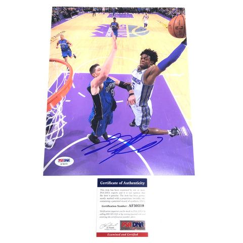 De'Aaron Fox Signed 8x10 photo PSA/DNA Sacramento Kings Autographed