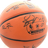 2015-16 Warriors Team Signed Basketball PSA/DNA Autographed Ball 2016