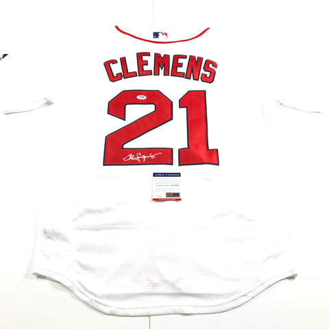 Roger Clemens Signed Jersey PSA/DNA Boston Red Sox Autographed