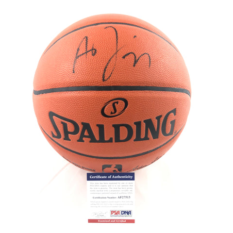 Anthony Davis signed Basketball PSA/DNA Los Angeles Lakers autographed