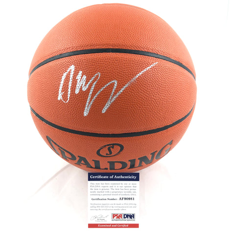 Andrew Wiggins Signed Basketball PSA/DNA Minnesota Timberwolves Autographed