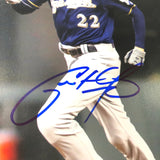 Christian Yelich Signed 8x10 Photo PSA/DNA Milwaukee Brewers Autographed