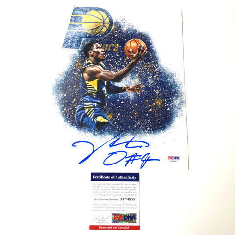 Victor Oladipo Signed 8x10 Photo PSA/DNA Indiana Pacers Autographed