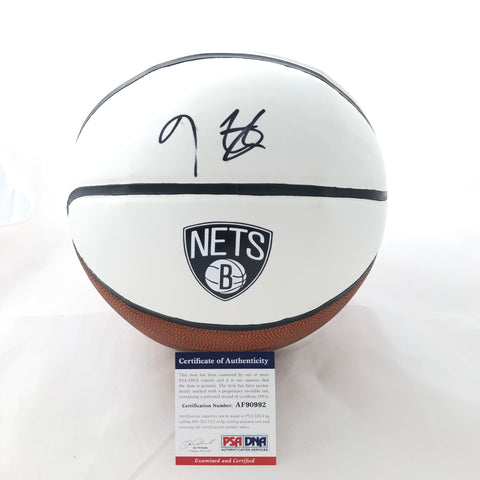 Kevin Durant Signed Basketball PSA/DNA Brooklyn Nets Autographed