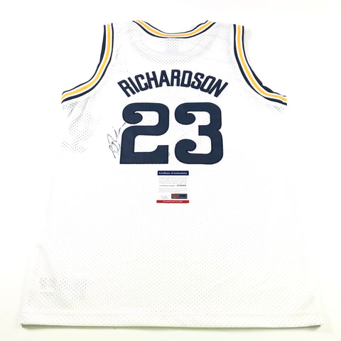Jason Richardson Signed Jersey PSA/DNA Golden State Warriors Autographed