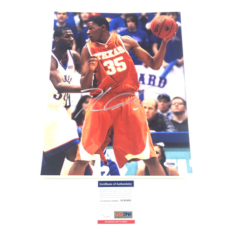 Kevin Durant Signed 11x14 Photo PSA/DNA Texas Longhorns Autographed