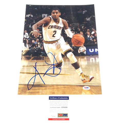 Kyrie Irving Signed 11x14 photo PSA/DNA Cleveland Cavaliers Autographed