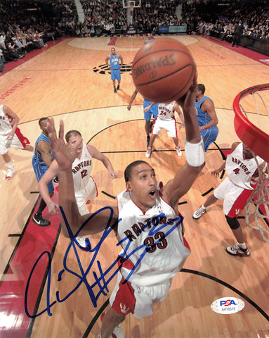 Jamario Moon signed 8x10 photo PSA/DNA Toronto Raptors Autographed