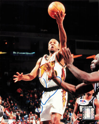 Brian Shaw signed 8x10 photo PSA/DNA Golden State Warriors Autographed
