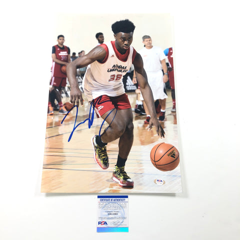 Jaylen Brown signed 12x18 photo PSA/DNA Boston Celtics Autographed Cal Bears