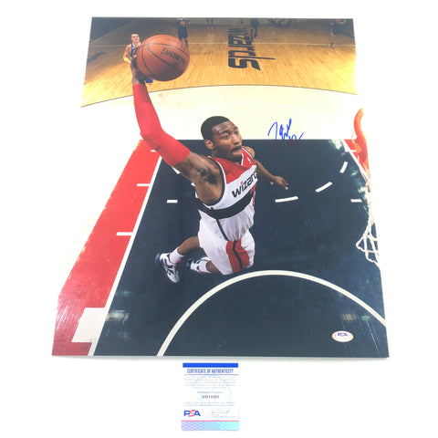 John Wall signed 16x20 photo PSA/DNA Washington Wizards Autographed