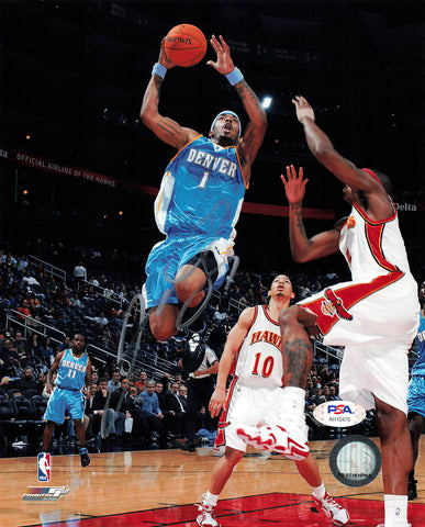 JR Smith signed 8x10 photo PSA/DNA Denver Nuggets Autographed