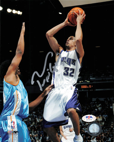 Francisco Garcia signed 8x10 photo PSA/DNA Sacramento Kings Autographed