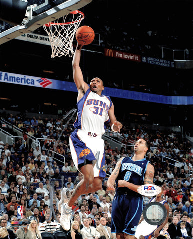 Shawn Marion signed 8x10 photo PSA/DNA Phoenix Suns Autographed