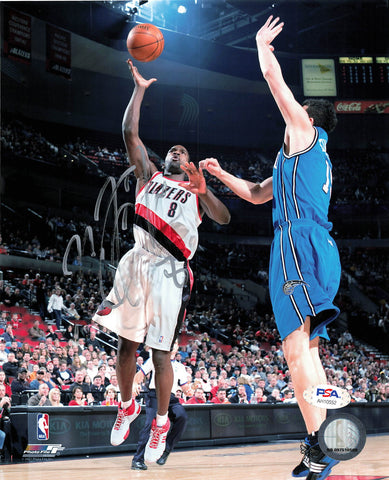 Martell Webster signed 8x10 photo PSA/DNA Portland Trailblazers Autographed