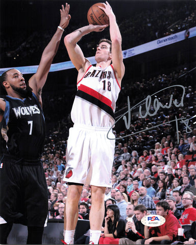 Victor Claver signed 8x10 photo PSA/DNA Portland Trailblazers Autographed