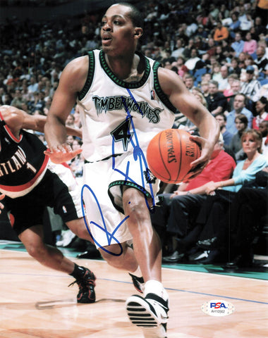 Randy Foye signed 8x10 photo PSA/DNA Minnesota Timberwolves Autographed
