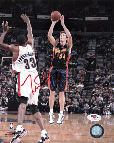 Mike Dunleavy signed 8x10 photo PSA/DNA Warriors Autographed