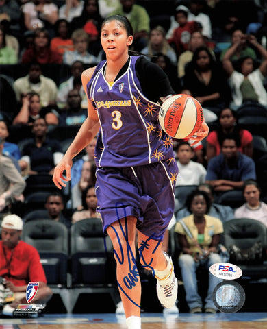 Candace Parker signed 8x10 photo PSA/DNA Los Angeles Sparks Autographed