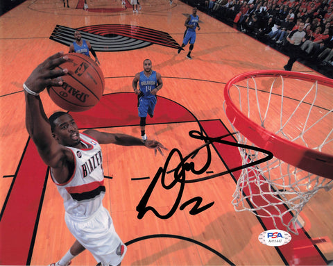 Wesley Matthews signed 8x10 photo PSA/DNA Portland Trailblazers Autographed