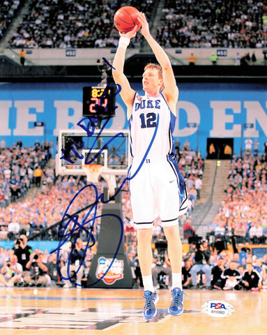 Kyle Singler signed 8x10 photo PSA/DNA Duke Blue Devils Autographed