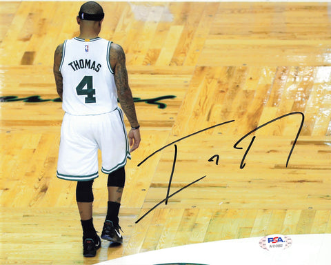 Isaiah Thomas signed 8x10 photo PSA/DNA Boston Celtics Autographed