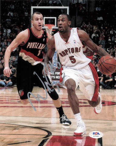 Will Solomon signed 8x10 photo PSA/DNA Toronto Raptors Autographed