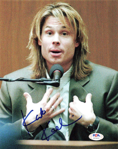 Kato Kaelin signed 8x10 photo PSA/DNA Autographed