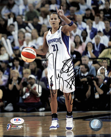Ticha Penicheiro Signed 8x10 photo PSA/DNA Autographed Sacramento Monarchs